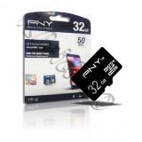 رم میکرو پکدار 32گیگ PNY 50mb/s