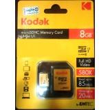 کارت حافظه میکرو اس دی کداک U1 8 گیگ