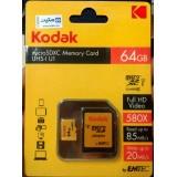کارت حافظه میکرو اس دی کداک U1 64 گیگ