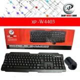 کیبورد و ماوس بی سیم ایکس پی-پرواکت مدل XP-W4403 با حروف فارسی